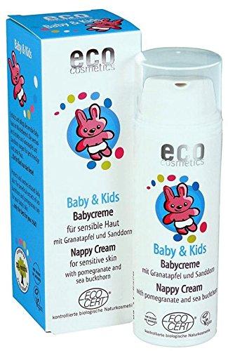 ECO COSMETICS - Baby Crema Natural para Pañales - Protectora, hidratante y nutritiva - Perfume