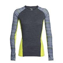 Icebreaker Women's Comet Long Sleeve Crewe T-Shirt