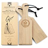 Gnocchi Boards and Wooden Butter Paddles to Easily