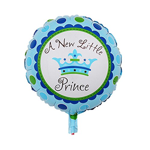 [1pcs/lots Little Prince Balloon Festival Birthday Event Party Decoration (Blue)] (Beauty And The Beast Costume Little Girl And Dog)