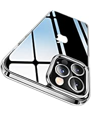 CASEKOO Crystal Clear Designed for iPhone 12 Pro Max Case, [Anti-Yellowing] [Military Grade Protection] Shockproof Protective Phone Case Slim Thin Cover for iPhone 12 Pro Max 5G (6.7 inch) 2020-Clear