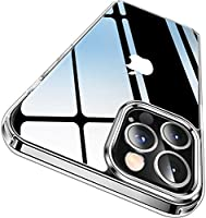 CASEKOO Crystal Clear Designed for iPhone 12 Pro Max Case, [Not Yellowing] [Military Grade Drop Tested] Shockproof...