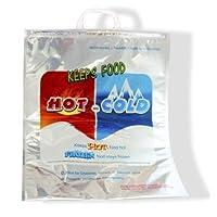 Bolsa de almacenamiento y transporte de alimentos térmicos con aislamiento en caliente y frío de X-Large 19 x 16 - Sostiene 30 lbs por HC
