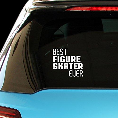 BEST FIGURE SKATER EVER Car Laptop Wall Sticker