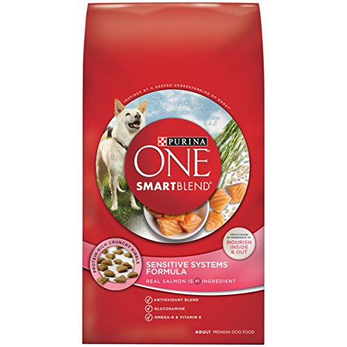 Purina ONE SmartBlend Sensitive System Dry Dog Food- (1) 31 lb. Bag (Dog 1)