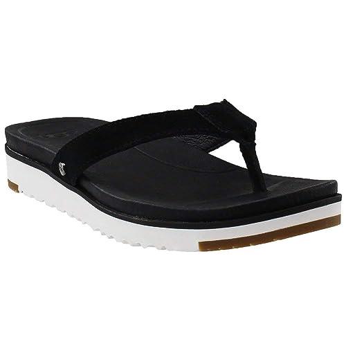 d736a32fe0f UGG Australia Women's Lorrie Flat Sandal: Amazon.co.uk: Shoes & Bags
