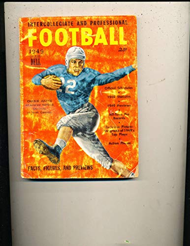 1949 Charlie Justice Dell Football Guide FBG1