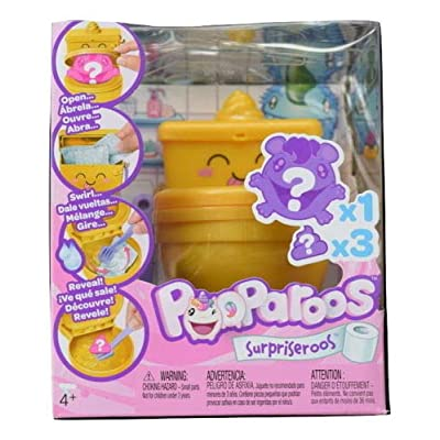 Pooparoos Surpriseroos Toilet Pack [Gold]: Toys & Games