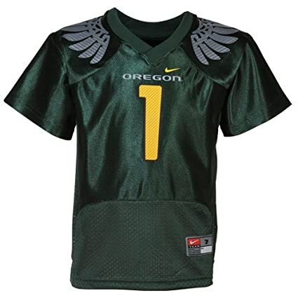 100% authentic 43577 6647d NIKE Oregon Ducks #1 Kids Replica Football Jersey - Green