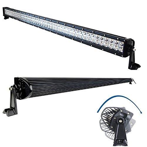 288W 50 LED Light Bar Combo Beam for Off-Road ATV UTV SUV RV Truck Pick-up (pack of 1)