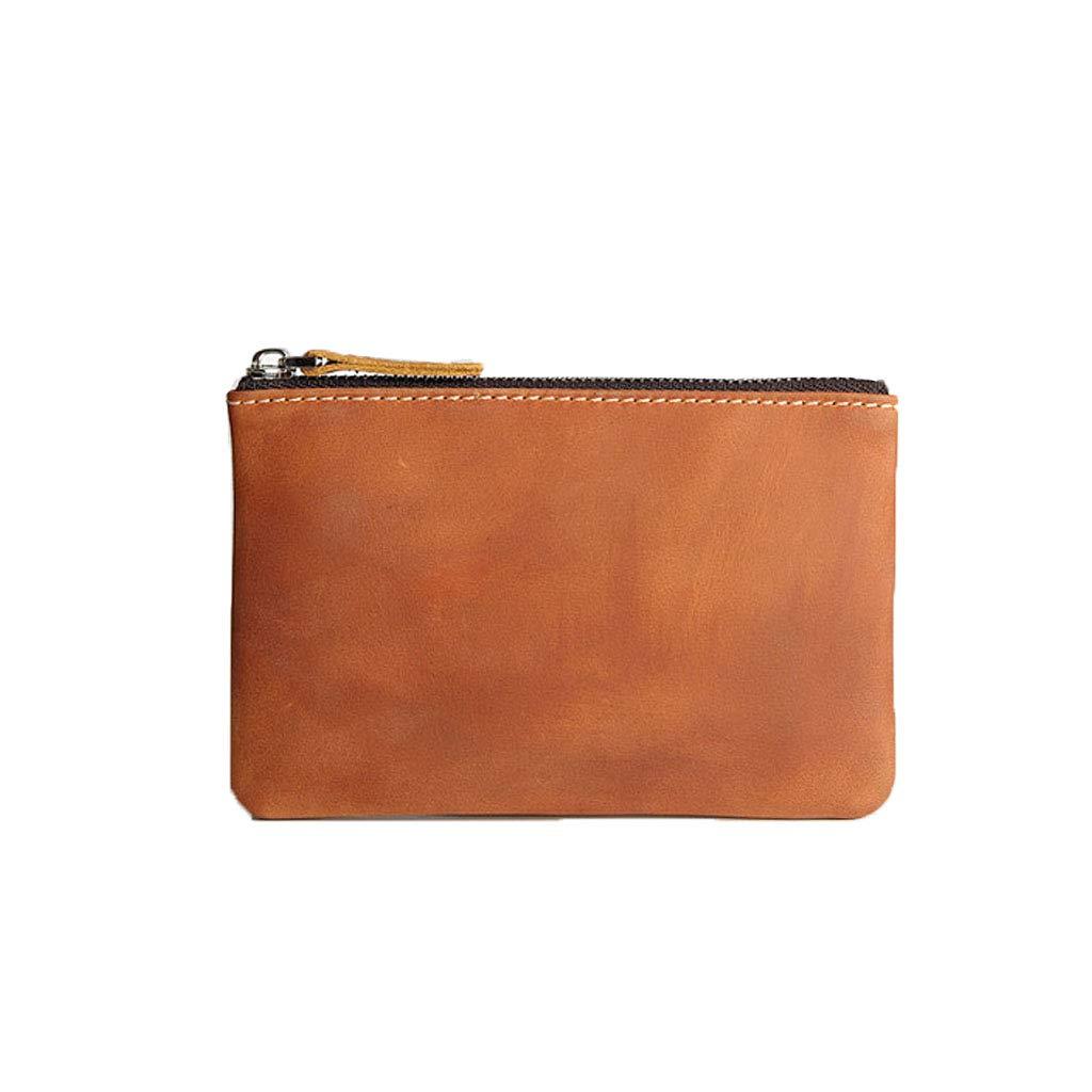 Men's Leather Zipper Small...