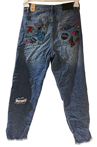 Dy301 Jeans Wiya jeansblau Wiya Jeans Donna xRRHqP4w