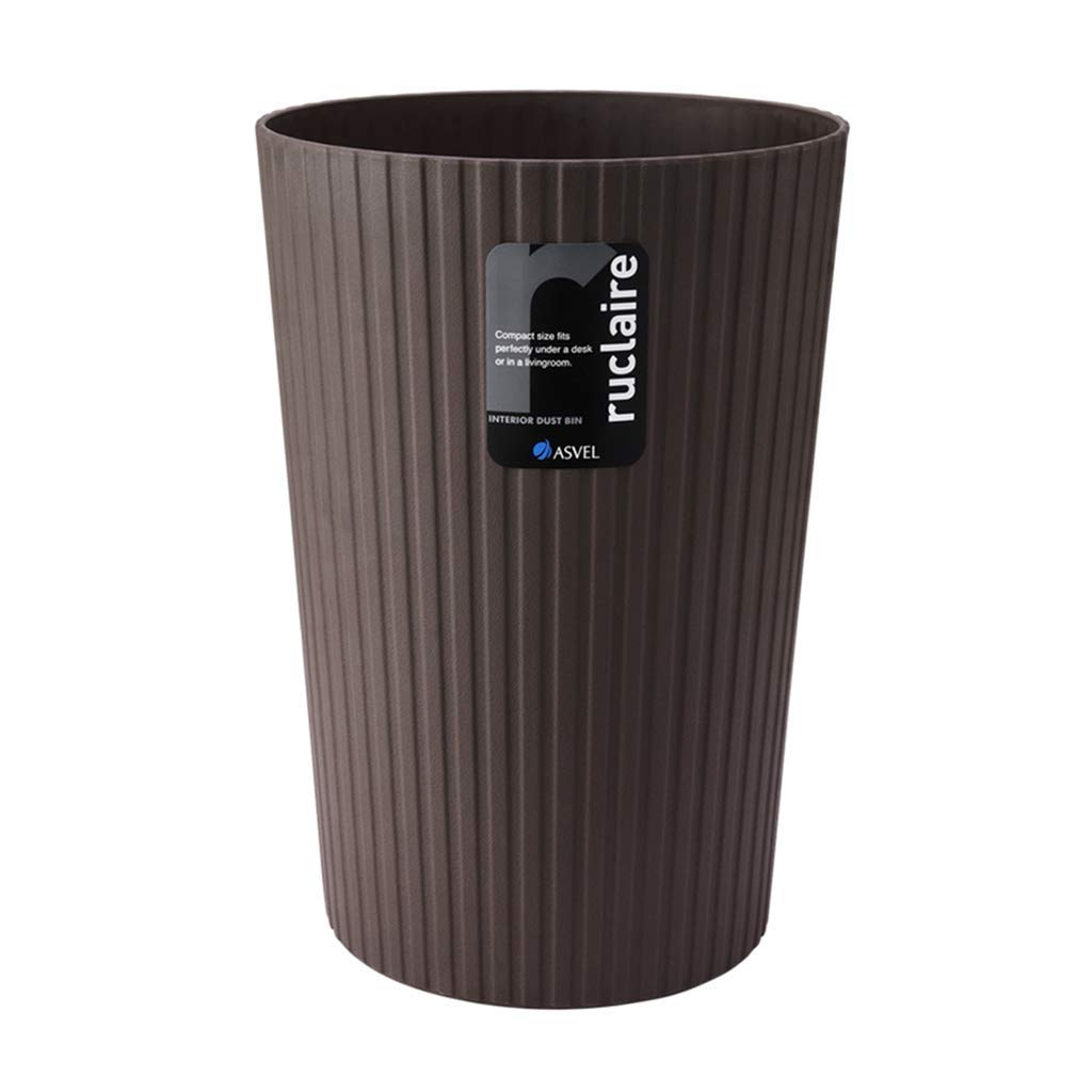 再利用可能なゴミ箱 室内環境のゴミ箱ゴミ箱の上に、ホームリビングルームの寝室のバスルームキッチンプラスチック紙のバスケット (Color : S, サイズ : 13L) 13L S B07SQMF42G