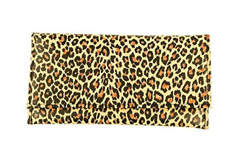 Mano Mujer 12babyline Leopardo Para De Cartera 1BZxwqRf