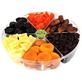 Variety Nuts Gourmet Dried Fruits Gift Basket, Large
