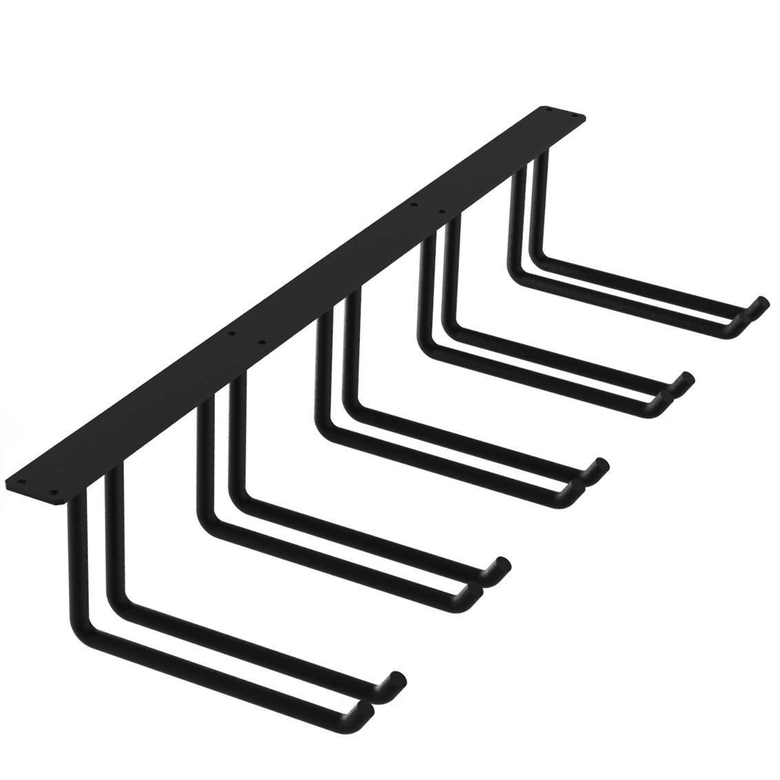 FRMSAET Ceiling Mounted Storage Heavy Duty Metal 48 inch Overhead Garage Storage Rack Tools Holder Hanger Garage Bracket Wall Organization Storage Shelf System-Easy to Install Large, 1 Pack