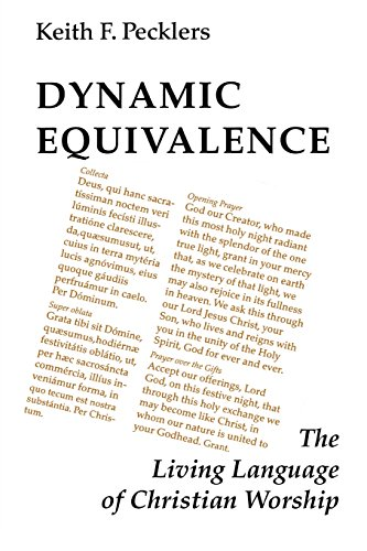 Dynamic Equivalence: The Living Language of Christian Worship (Pueblo Books) by Brand: Liturgical Press