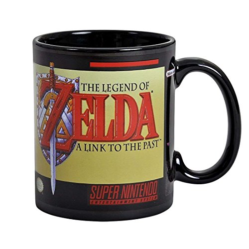 - Paladone SNES The Legend Zelda Mug - Officially Licensed Nintendo Product 10oz