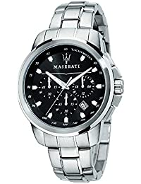 Successo Maserati watch R8873621001 Chronograph Black Man