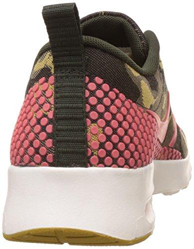 Nike Air Max Thea Jacquard Premium Womens Loopschoenen Desert Camo / Hete Lava-dark Citron