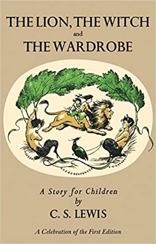 Image result for the lion, the witch, and the wardrobe first edition amazon