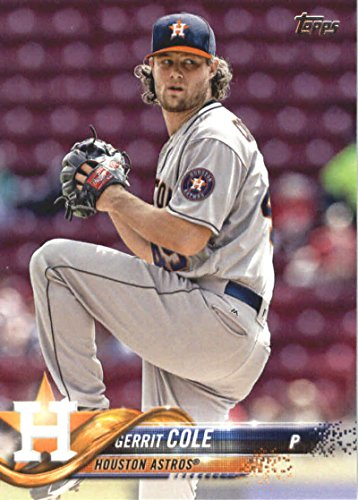 2018 Topps Series 2#443 Gerrit Cole Houston Astros Baseball Card - GOTBASEBALLCARDS