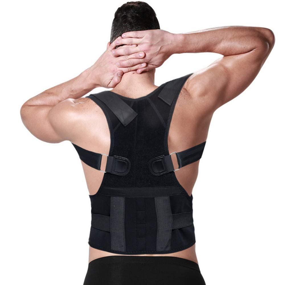 Qwer Back Correction Belt Fixed Support kyphosis Correction Belt Adult Correction Posture Correction