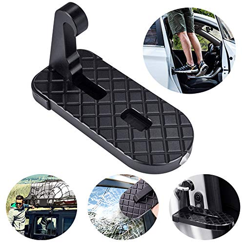 HomoDesign Doorstep for Cars Trucks SUV Fuego, Convenient U Shaped Slam Latch Doorstep for Easy Car Rooftop Access,Portable Design for Adventures Made Easy,Bonus Extra Storage Bag