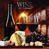 "Beautiful Photographs of Light & Dark Wines & Food Pairings for Those Who Love Wine 2017 Monthly Wall Calendar, 12"" x 12"""