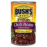 BUSH'S BEST Kidney Beans in a Mild Chili Sauce, 16 Ounce Can, Chili...