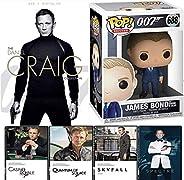 Gunner Agent 007 Collection The Secret SPECTRE Daniel Craig James Bond 4 Film & Skyfall, Casino Royale, Qu