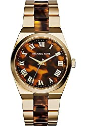 Michael Kors Women's Quartz Stainless Steel Casual Watch, Color:Gold-Toned (Model: MK6151)