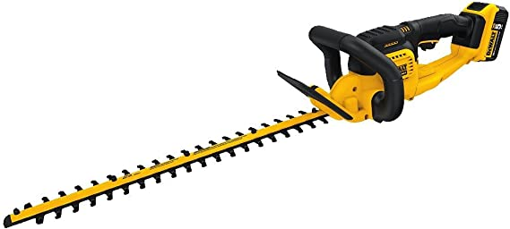 DEWALT 20V MAX Cordless Hedge Trimmer (DCHT820P1)