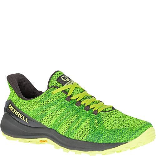 (Merrell Men's Momentous Trail Running Shoes, 13 M, Lime Punch)