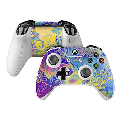 Unicorn Vibe Skin Decal Compatible with Microsoft Xbox One and One S Controller - Full Cover Wrap for Extra Grip and Protection from DecalGirl