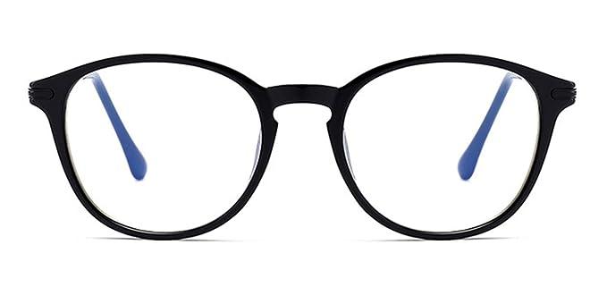 ef9347160bb28 TIJN Lunette de Lecture Presbyte Anti Lumière bleue Round Monture de lunette  Anti Fatigue Les UV