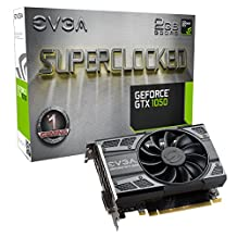 EVGA GeForce GTX 1050 SC GAMING, 2GB GDDR5, DX12 OSD Support (PXOC) (02G-P4-6152-KR)