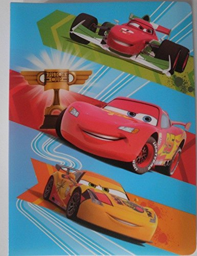 GUIZMAX Album Photo Disney Cars 36 Photos Enfant à Pochette