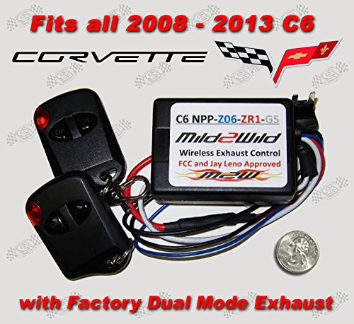 Buy corvette exhaust remote