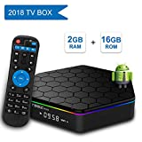 YAGALA T95Z Plus Android TV Box, Android 7.1 Amlogic S912 Octa Core 2GB DDR3 RAM 16GB EMMC ROM Support 3D 4K Dual Band WiFi 2.4GHz/5GHz