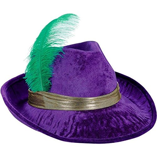 Mardi Gras Pimp Party Fedora, 6