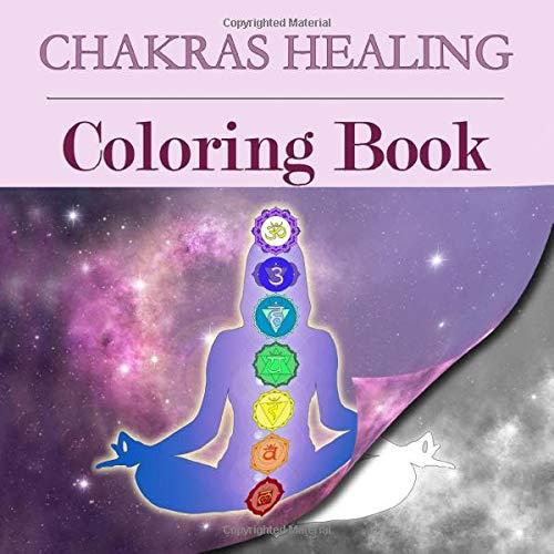 Chakras Healing Coloring Book Meditation product image