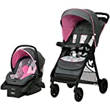 Disney Baby Mickey Mouse Smooth Ride Travel System in Minnie Happy Helpers