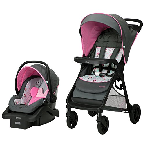 Disney Disney Baby Smooth Ride Travel System, Minnie Happy Helpers