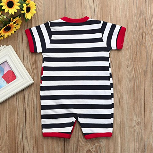 04b2e1e7abc5 Moonker Baby Playsuits Newborn Infant Toddler Boys Girls Cartoon ...