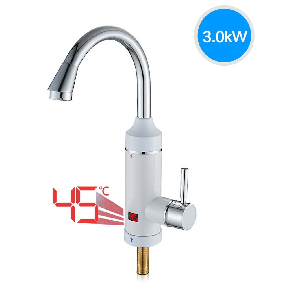 CLDGF Smart Kitchen Faucet 3000W Speed Temperature Display 220V Electric Water Faucet 360 Degree Rotation Electric Water Heater Water Heater Kitchen Kitchen Po,Thefollowingentrance