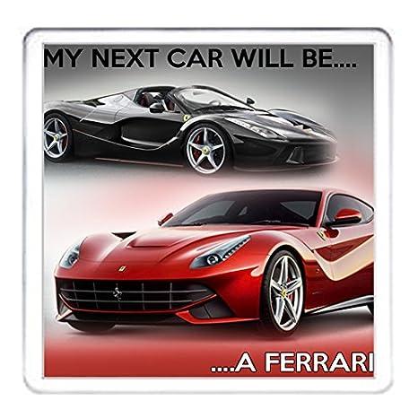 Ferrari posavasos, mi próximo coche será un Ferrari taza de ...