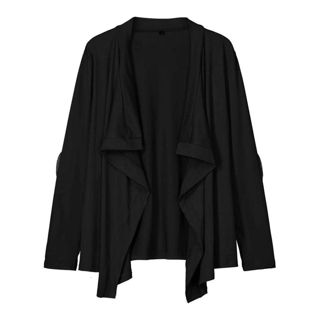 Pandaie Women Jacket,Womens Knitted Casual Long Sleeve Tops Cardigan Jacket Outwear Plus Size