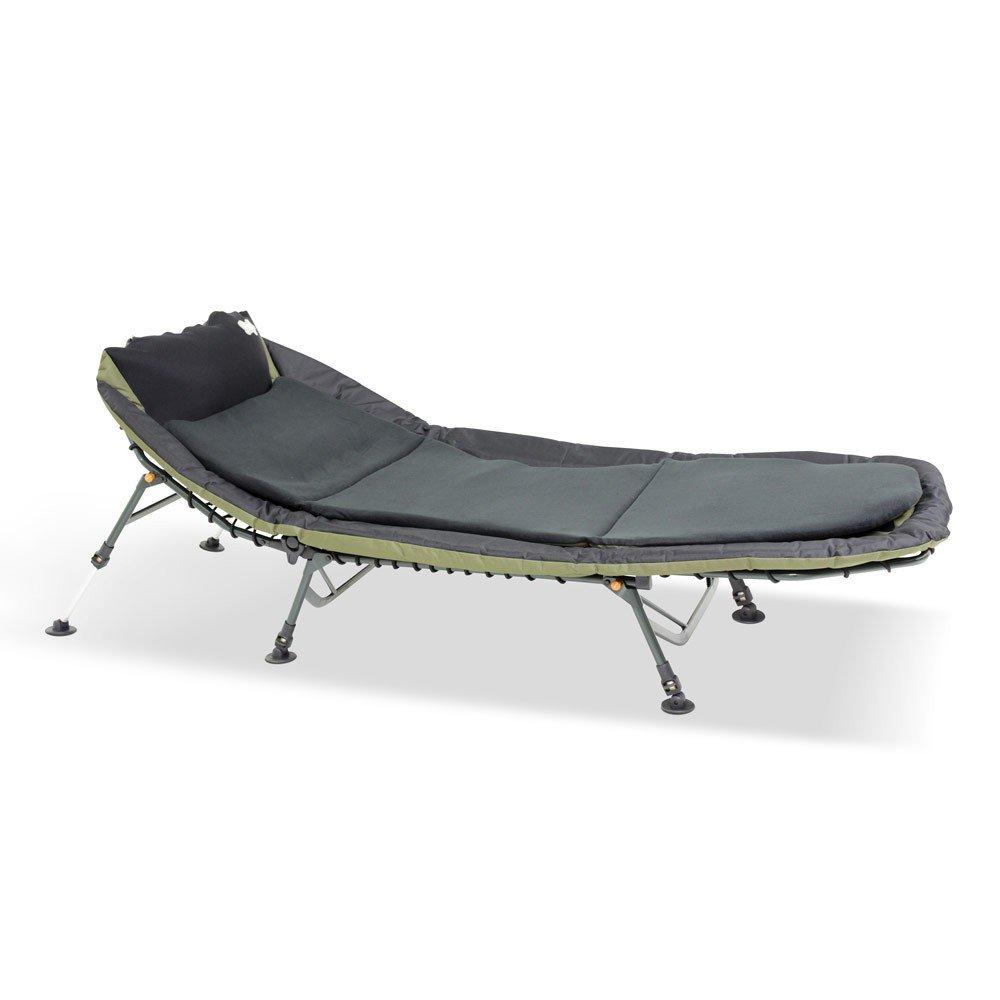 Lucx set pour pêche à la carpe like a boss angel chaise longue lit de camp chaise longue chaise longue de jardin avec deux jambes 6 2 pour pêcheurs