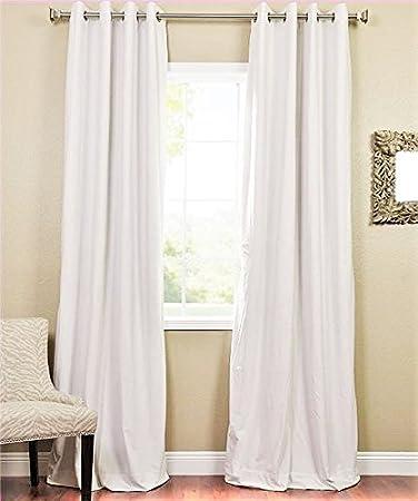 Curtains Ideas curtain panels 72 length : Amazon.com: GorgeousHomeLinen *Various of Colors* 1 Piece #72 ...